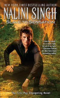 <i>Slave to Sensation</i> is the first book in the Psy-Changeling series by Nalini Singh.&nbsp;(Berkley/Courtesy)