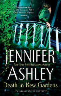 <i>Death in Kew Gardens</i>, the latest in Jennifer Ashley's Kat Holloway series, arrives June 4.&nbsp;(Berkley/Courtesy)