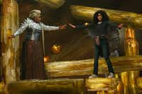 Oprah Winfrey (left) and Storm Reid appear in a scene from <i>A Wrinkle In Time</i>, which was adapted from a popular book. For kids, reading the book first can be great preparation for the movie theater experience.&nbsp;(Atsushi Nishijima/Disney/The Associated Press)