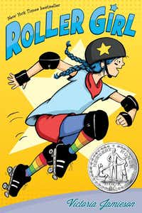 Victoria Jamieson's graphic novel <i>Roller Girl </i>won the Newbery Honor and Texas Bluebonnet Award, among other prizes.(Dial Books/Courtesy)