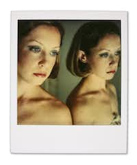 """Needham, Mass., 1977. This Polaroid photo by Paul Black is part of the show """"Carol,"""" at Barry Whistler Gallery, June 1 to July 27, 2019.(Paul Black/Barry Whistler Gallery)"""