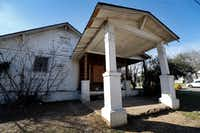 A boarded-up home at 1212 9th St. in the Tenth Street Historic District(Tom Fox/Staff Photographer)