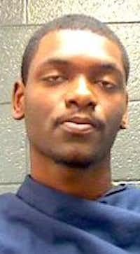 Antwan Jamerson Campbell faces charges of family violence assault and failure to identify.(Wichita County Jail)