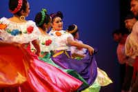 Alegre Ballet Folklorico performing in 2014 at the Latino Cultural Center in Dallas.(Ben Torres/Special Contributor)