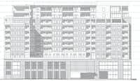 Kairoi Residential's planned Maple Avenue residential building will have 12 floors.(GDA Architects)