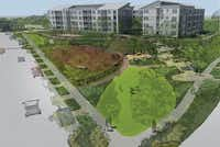 <p>Bright Realty has broken ground on a second phase of its Discovery at The Realm apartments in Lewisville.</p>(Bright Realty)