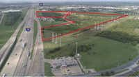 The 80-acre industrial park is planned near the intersection of LBJ Freeway and I-30.(City of Mesquite)