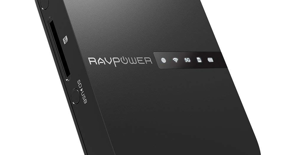 Why everyone needs a Ravpower Filehub in their computer bag...
