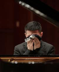 Xiaoxuan Li from China performed during the Quarterfinal round on June 2 as part of the Cliburn International Junior Piano Competition and Festival in Caruth Auditorium on the campus of SMU in Dallas.(Ralph Lauer/Cliburn Foundation)