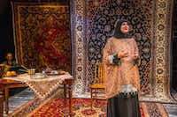 In her one-woman show <i>Unveiled</i>, Chicago playwright Rohina Malik portrays five Muslim women who sip tea and tell stories about the misunderstandings surrounding their faith. Malik is bringing the show to WaterTower Theatre in Addison from June 12-30.(Andrew Brilliant)