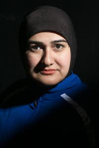 Chicago-based playwright-actress Rohina Malik, who wrote and stars in her one-woman show <i>Unveiled</i>.(Beowulf Sheehan)