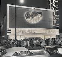 The landmark Esquire Theater was demolished in the 1980s for a parking lot.(DMN files)
