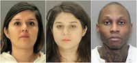 <p>From left: Brenda Delgado hired Crystal Cortes and Kristopher Love to kill Kendra Hatcher, who was in a relationship with Delgado's ex-boyfriend. Love has been sentenced to death in the case, and Cortes agreed to plead guilty and got 35 years in prison in exchange for testifying against the other two.</p>
