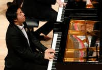 Shuan Hern Lee performs during the semifinal round of the 2019 Cliburn International Junior Piano Competition and Festival at Caruth Auditorium in Dallas on June 6, 2019.(Vernon Bryant/Staff Photographer)
