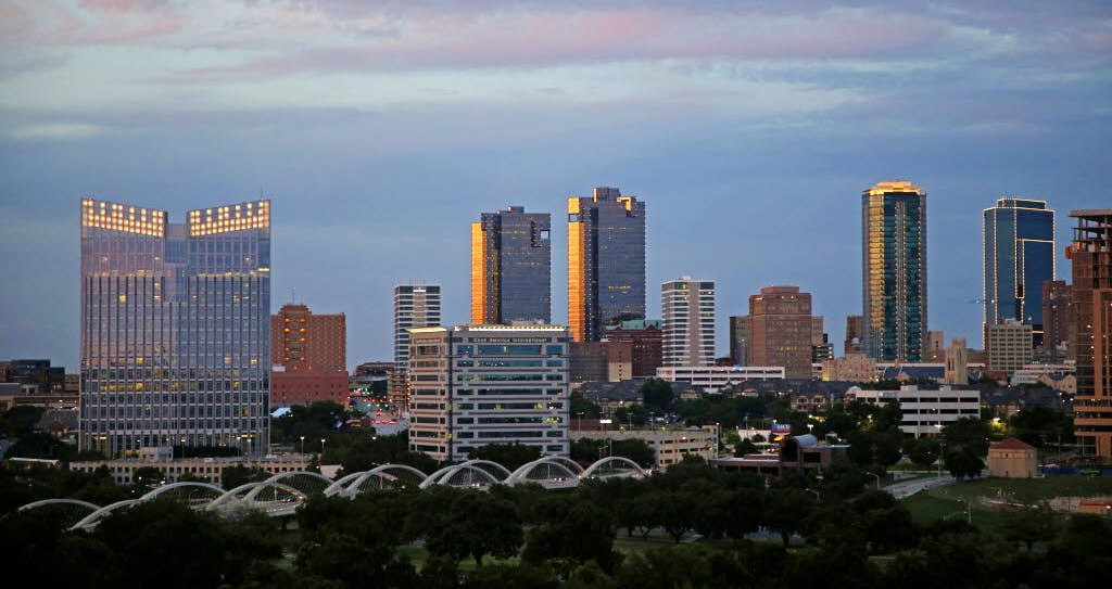Did you choose to live in Fort Worth over Dallas? Tell