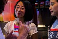 Lily Bao at an event in 2017, when she was running for mayor. Bao won the Place 7 seat on the Plano City Council Saturday night. (Ashley Landis/The Dallas Morning News)(Ashley Landis/Staff Photographer)