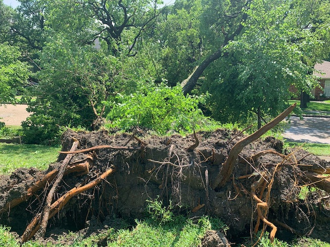 Thousands still without power Monday after powerful storms