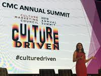 "<p><span style=""font-size: 1em; background-color: transparent;"">Valeria Piaggio, head of identity and inclusion insights at Kantar Futures, speaks at the Culture Marketing Council's 2019 summit.</span></p>(Orla McCaffrey/Staff Writer)"