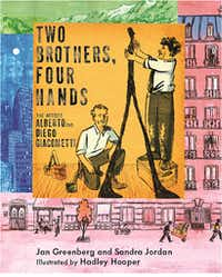 """<p><i>Two Brothers, Four Hands</i> delves into the&nbsp;<span style=""""font-size: 1em; background-color: transparent;"""">different but complementary talents of Alberto and Diego Giacometti.</span></p>(Holiday House/Courtesy)"""