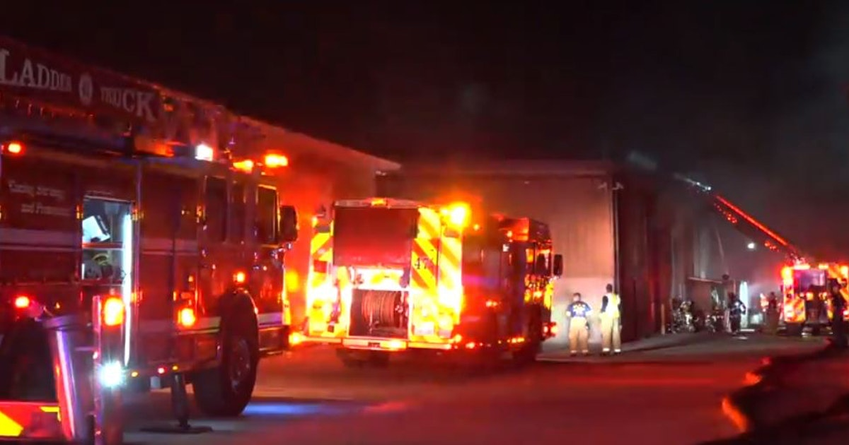 Custom cabinetry factory in business for 3 decades burns in northwest Dallas fire...
