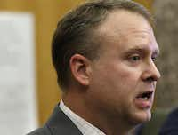 Prosecutor Jason Hermus said that initially he was skeptical about the DA's plan, but now he's on board.(Rose Baca/Staff Photographer)