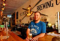 St. Petersburg, Fla., has changed from a retirement community to a vibrant city of art, craft breweries and new-age restaurants, says Neil Keidel of the St. Pete Brewing Co.  (Katherine Rodeghier/Special Contributor)