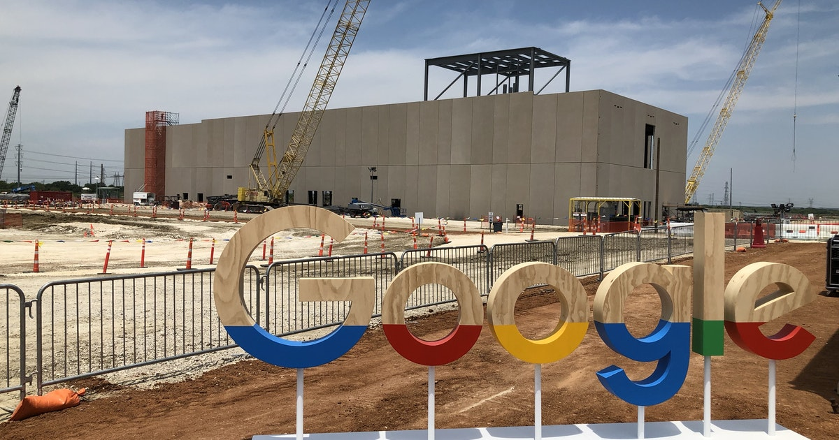 Google's massive $600M data center takes shape in Ellis County as tech giant ups Texas presence...