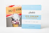 <i>Salt &amp; Straw Ice Cream Cookbook</i> and<i> Jude's Ice Cream &amp; Desserts</i>(Ashley Landis/Staff Photographer)