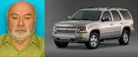 Edward Ernest Vintimilla was last seen driving a beige Chevy Tahoe.(Parker County Sheriff's Office)