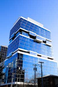 Harwood International's newest tower, Harwood No. 10, is about 65% leased.(Harwood International)