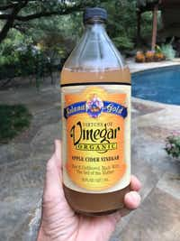 Apple cider vinegar is the key ingredient in Garrett Juice.(Howard Garrett)