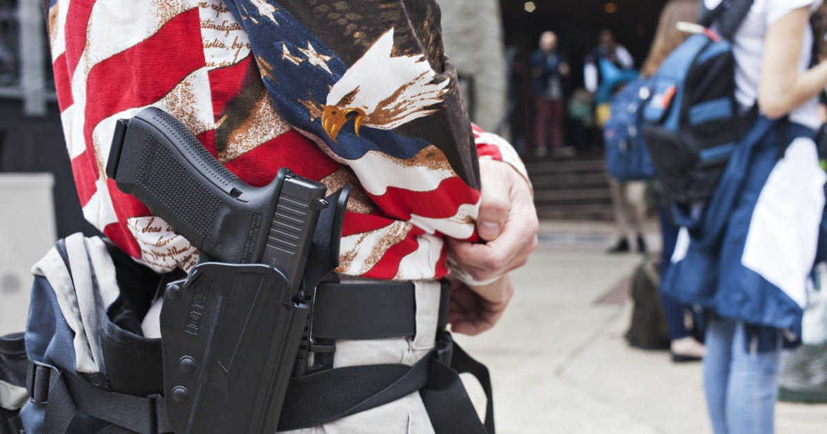 NRA celebrates 'highly successful' year in Texas as new gun bills signed into law...