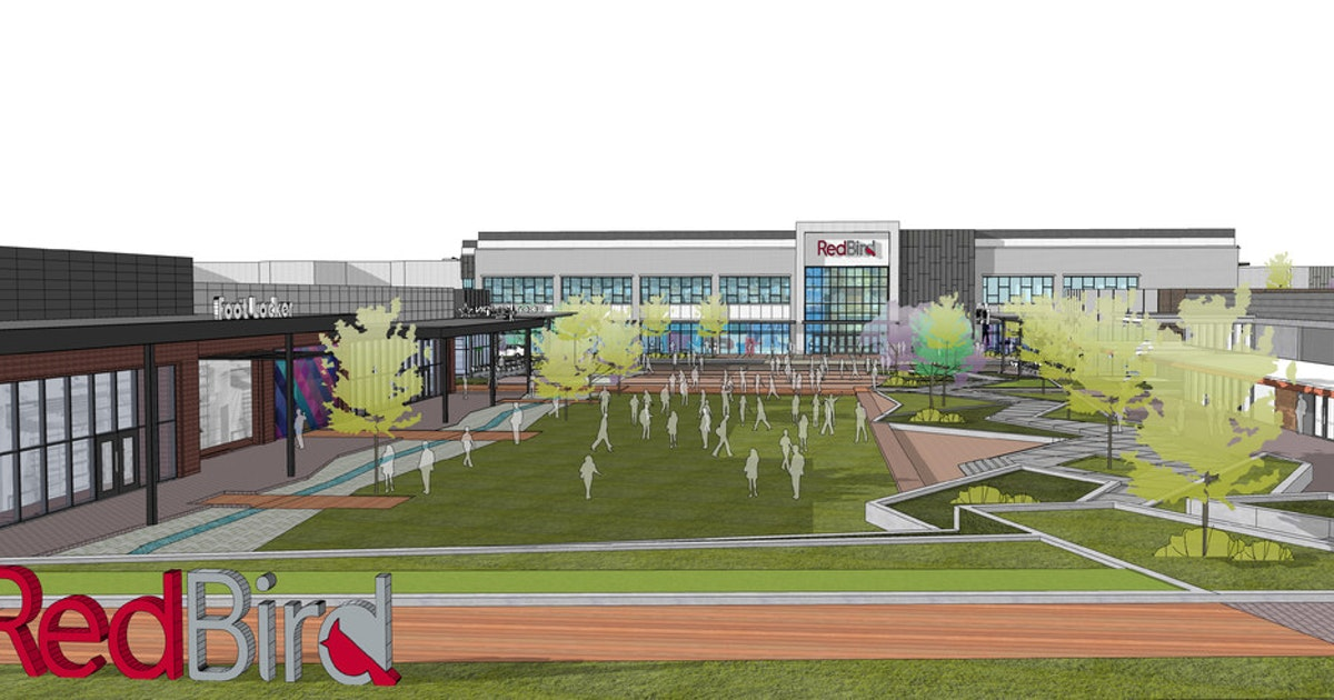 What to expect this time next year from the $160 million redevelopment of RedBird...