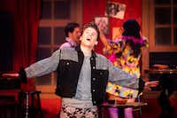 Los Angeles actor Blake McIver stars as fashion designer Wes in Uptown Players' production of the Max Vernon musical <i>The View UpStairs</i>.(Smiley N. Pool/Staff Photographer)