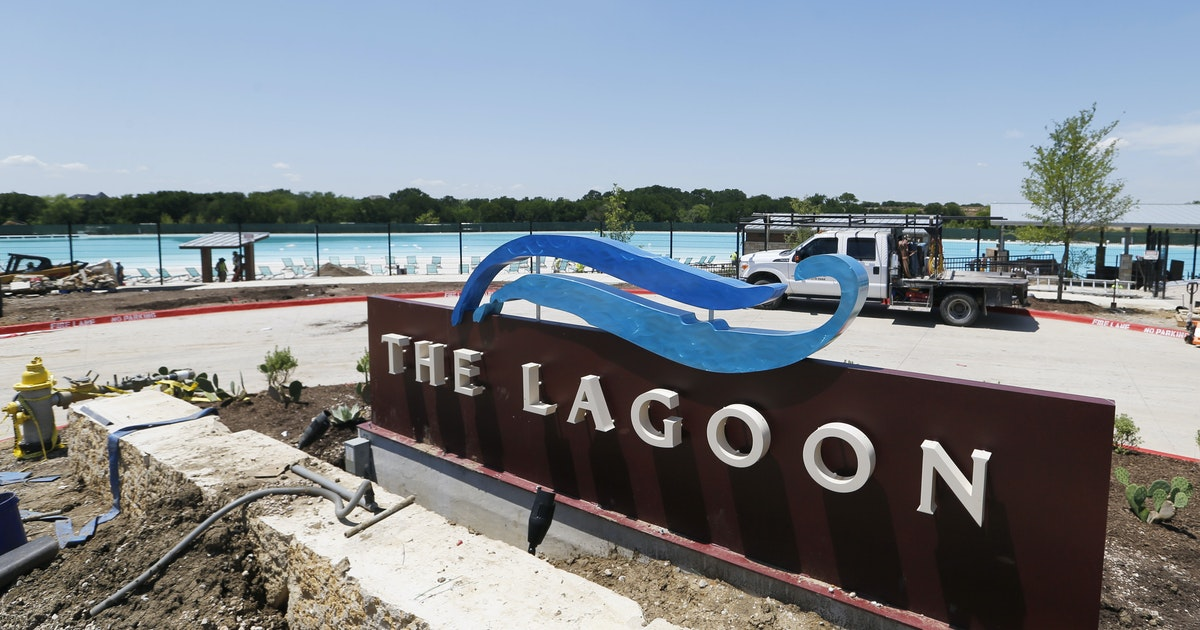 Prosper residents are ready to dive into North Texas' first Crystal Lagoon...