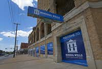 There's a welcome sign for the city on the historic Baker Hotel in Mineral Wells.(2018 File Photo/Staff)