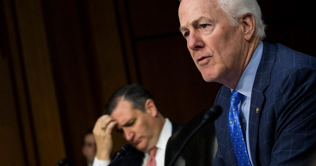 Texans Cornyn, Cuellar can't get congressional colleagues to back their bipartisan immigration plan...