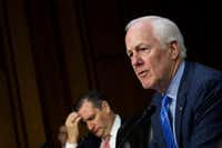 "Texas Sen. John Cornyn to the critics of his immigration bill: ""Surely, they don't like the status quo."" (Drew Angerer/Getty Images/TNS)(Drew Angerer/TNS)"