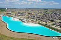 The Bailey family lives just across the street from the Crystal Lagoon, which is just about to open at Windsong Ranch in Prosper.(Scott Bailey)