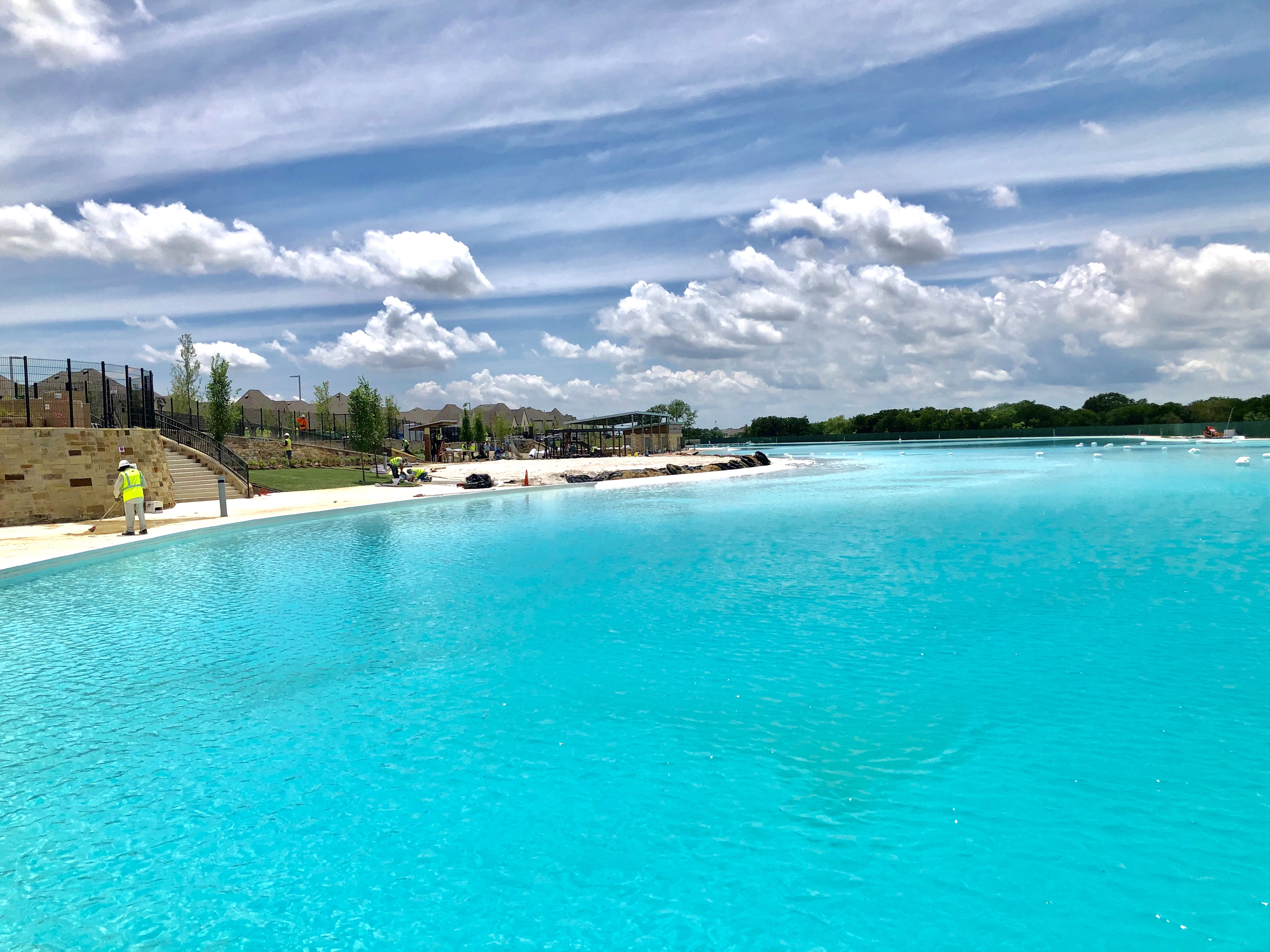 D-FW developers take a dip in Crystal Lagoons | Real Estate | Dallas