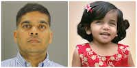 <p>Wesley Mathews, 39, is accused in the 2017 death of 3-year-old Sherin Mathews.</p>