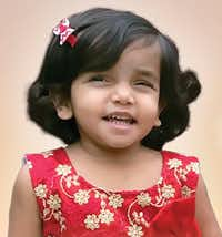 Sherin Mathews was adopted in 2016 from an orphanage in India and died in October 2017.