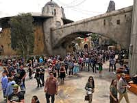 Star Wars: Galaxy's Edge is a popular new expansion area at Disneyland in Anaheim, Calif.(Hugo Martin/Los Angeles Times)