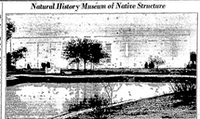 This photo of the Dallas Museum of Natural History was published in <i>The Dallas Morning News in&nbsp;</i>June 1936, when the museum first opened.&nbsp;(DMN Archives)