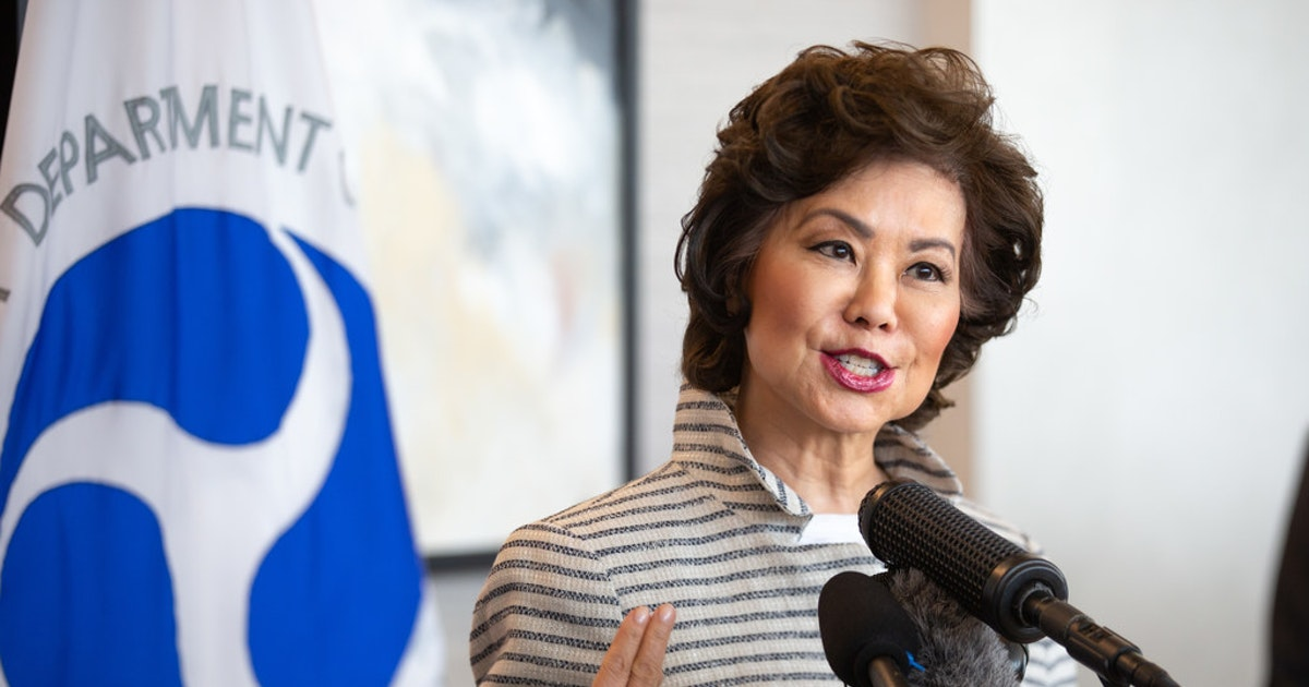 Elaine Chao comes to town bearing $23.2 million for DFW Airport taxiway upgrades...