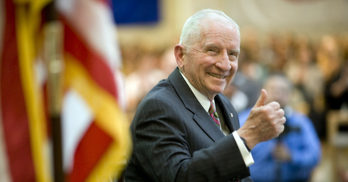 Ross Perot, self-made billionaire, patriot and philanthropist, dies at 89...