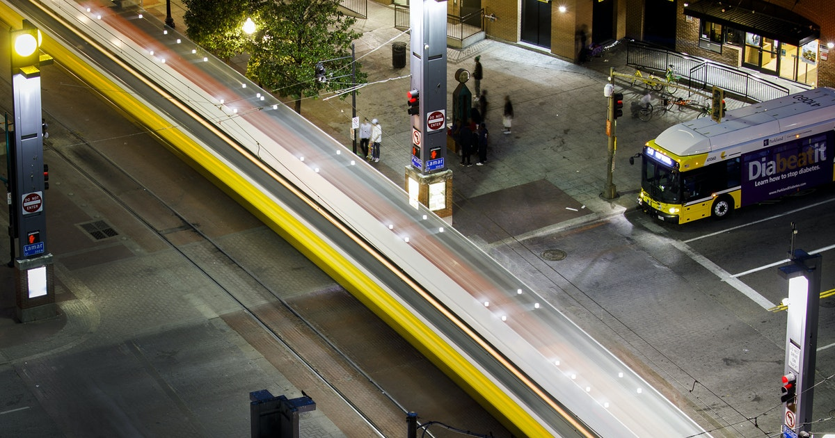 Man charged with murder after fatal stabbing at downtown Dallas DART station...