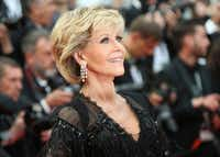 In this May 13, 2018 file photo, actress Jane Fonda poses for photographers upon arrival at the premiere of the film <i>Sink or Swim</i> at the 71st international film festival, Cannes, southern France.&nbsp;(Joel C Ryan/Joel C Ryan/Invision/AP)