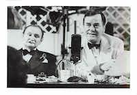 Al Lewis and Gig Young in the 1969 movie, <i>They Shoot Horses, Don't They?</i>, which earned Jane Fonda an Oscar nomination for best actress, her first. The film is based on a novel written by a writer once worked in Dallas.&nbsp;(The Dallas Morning News archives&nbsp;)