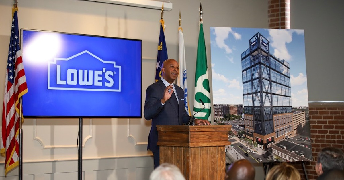 Lowe's picks Charlotte after dangling potential of 2,000 new tech